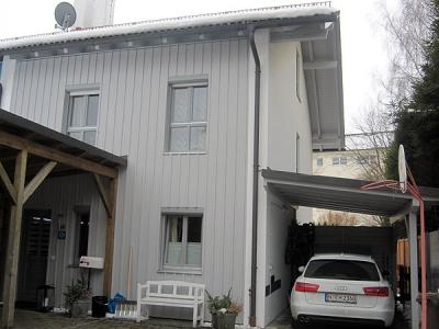 Familie Hölting in Wolfratshausen, neue Gestaltung der Fassade