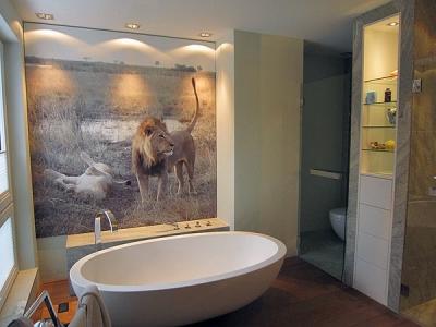 Privatwohnung in München, farbliche Gestaltung der Wohnräume